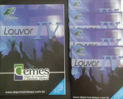 Revista Louvor IV + 4 CDs