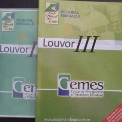 Revista Louvor III + 4 CDs