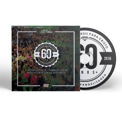 437 - DVD - Festa dos 60 Anos OBPC - Editora OBPC