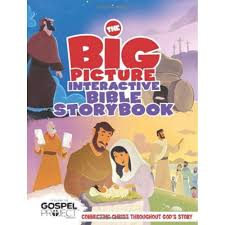 1847 - The Big Picture Interactive Bible Story Book - VERSÃO EM INGLES